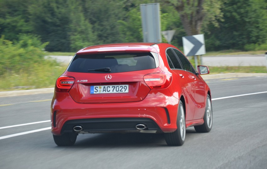 DRIVEN: W176 Mercedes-Benz A-Class – we sample the A200, A250 and A250 Sport in Slovenia Image #118542