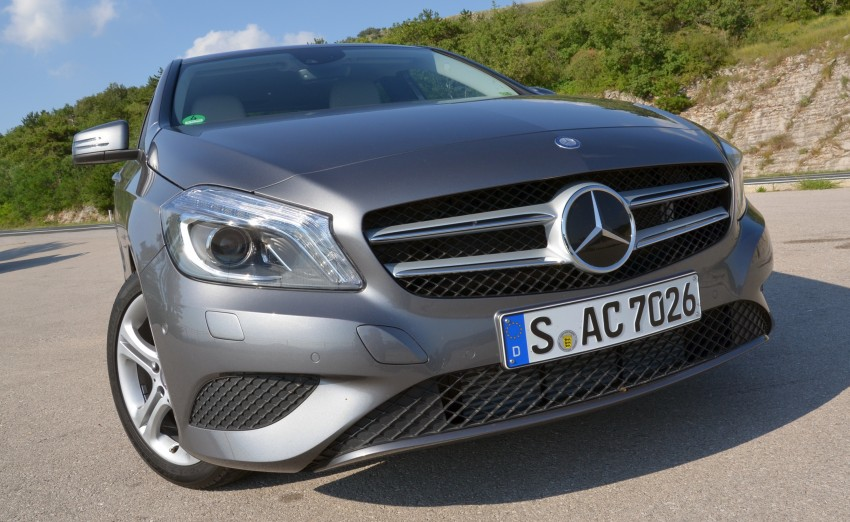 DRIVEN: W176 Mercedes-Benz A-Class – we sample the A200, A250 and A250 Sport in Slovenia Image #118546