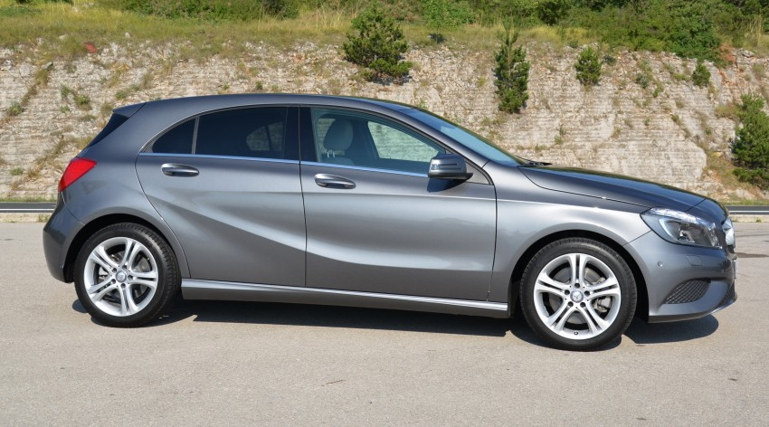 DRIVEN: W176 Mercedes-Benz A-Class – we sample the A200, A250 and A250 Sport in Slovenia Image #118547