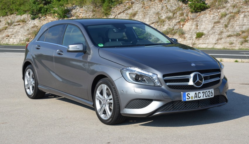 DRIVEN: W176 Mercedes-Benz A-Class – we sample the A200, A250 and A250 Sport in Slovenia Image #118548