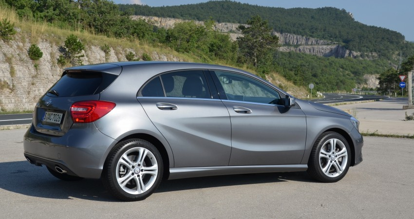 DRIVEN: W176 Mercedes-Benz A-Class – we sample the A200, A250 and A250 Sport in Slovenia Image #118549