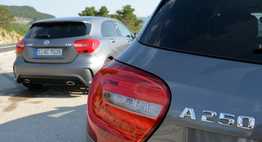 DRIVEN: W176 Mercedes-Benz A-Class – we sample the A200, A250 and A250 Sport in Slovenia Image #118554