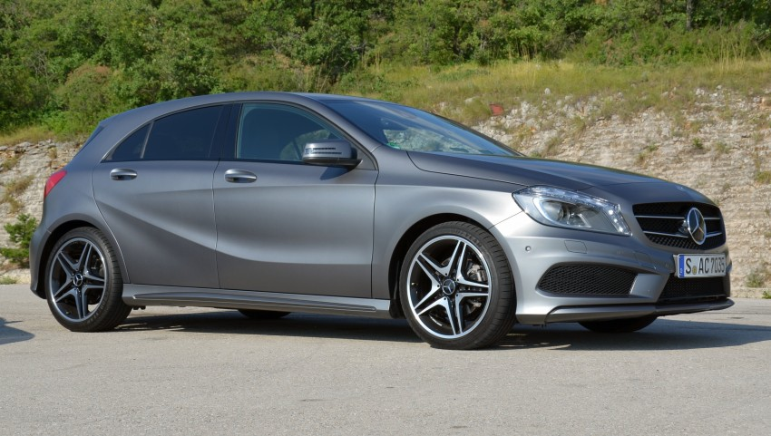 DRIVEN: W176 Mercedes-Benz A-Class – we sample the A200, A250 and A250 Sport in Slovenia Image #118555