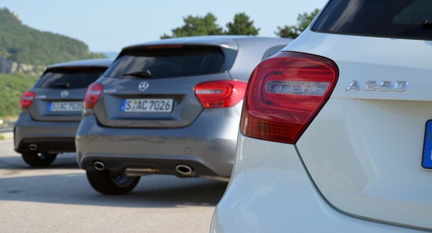 DRIVEN: W176 Mercedes-Benz A-Class – we sample the A200, A250 and A250 Sport in Slovenia Image #118556