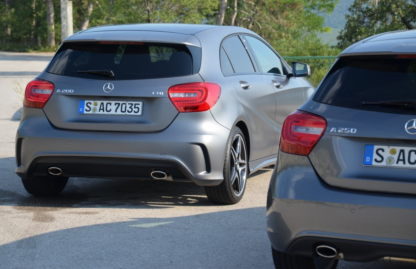 DRIVEN: W176 Mercedes-Benz A-Class – we sample the A200, A250 and A250 Sport in Slovenia Image #118557