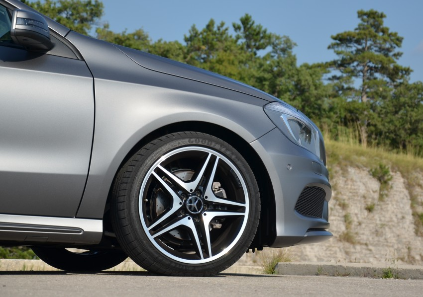 DRIVEN: W176 Mercedes-Benz A-Class – we sample the A200, A250 and A250 Sport in Slovenia Image #118559