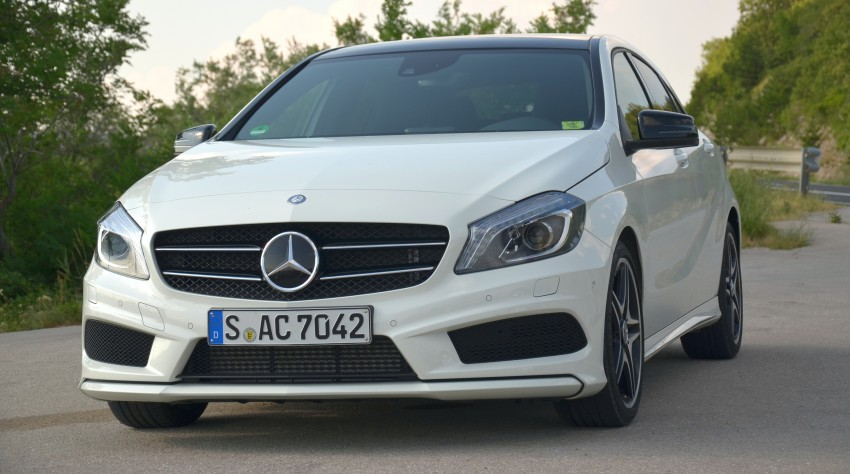 DRIVEN: W176 Mercedes-Benz A-Class – we sample the A200, A250 and A250 Sport in Slovenia Image #118561