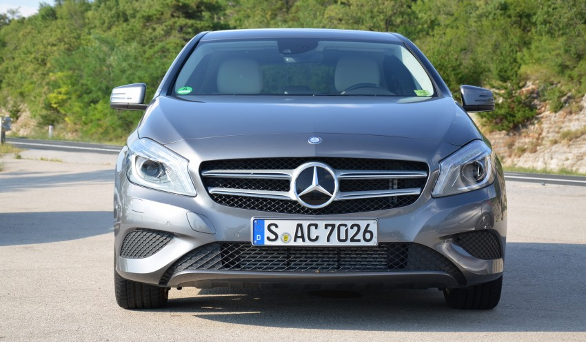 DRIVEN: W176 Mercedes-Benz A-Class – we sample the A200, A250 and A250 Sport in Slovenia Image #118562