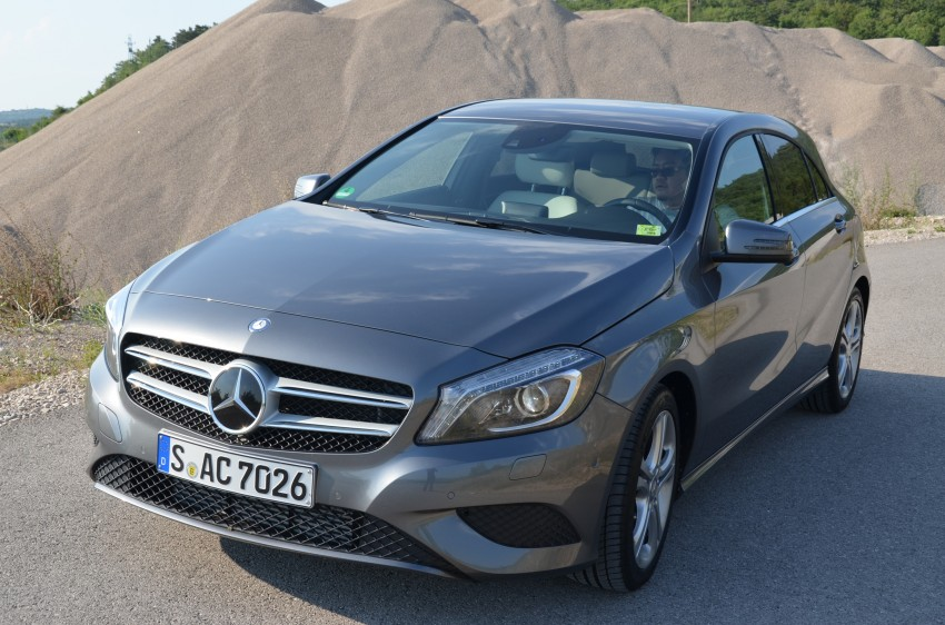 DRIVEN: W176 Mercedes-Benz A-Class – we sample the A200, A250 and A250 Sport in Slovenia Image #118570