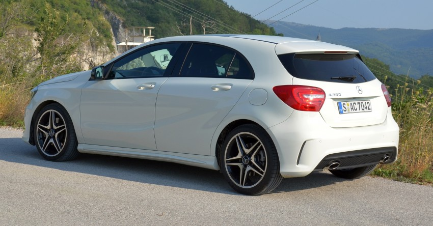 DRIVEN: W176 Mercedes-Benz A-Class – we sample the A200, A250 and A250 Sport in Slovenia Image #118571