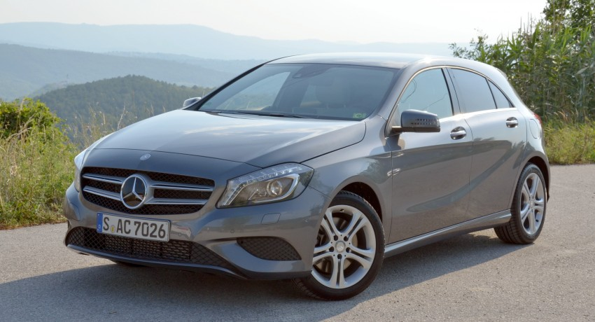 DRIVEN: W176 Mercedes-Benz A-Class – we sample the A200, A250 and A250 Sport in Slovenia Image #118572