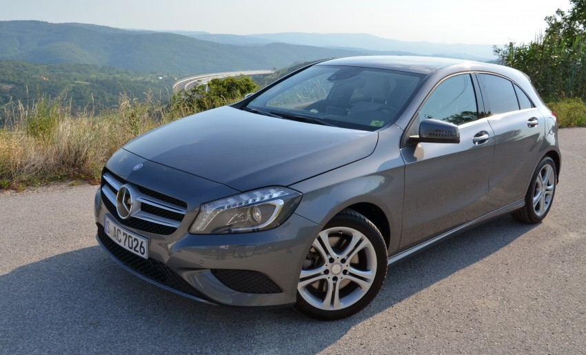 DRIVEN: W176 Mercedes-Benz A-Class – we sample the A200, A250 and A250 Sport in Slovenia Image #118573