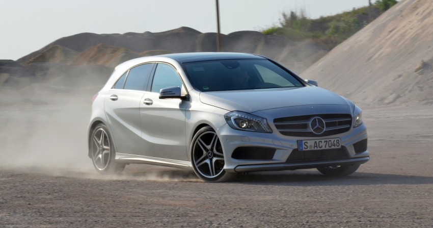 DRIVEN: W176 Mercedes-Benz A-Class – we sample the A200, A250 and A250 Sport in Slovenia Image #118574