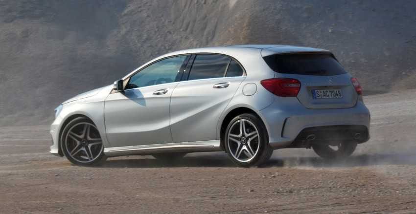 DRIVEN: W176 Mercedes-Benz A-Class – we sample the A200, A250 and A250 Sport in Slovenia Image #118575