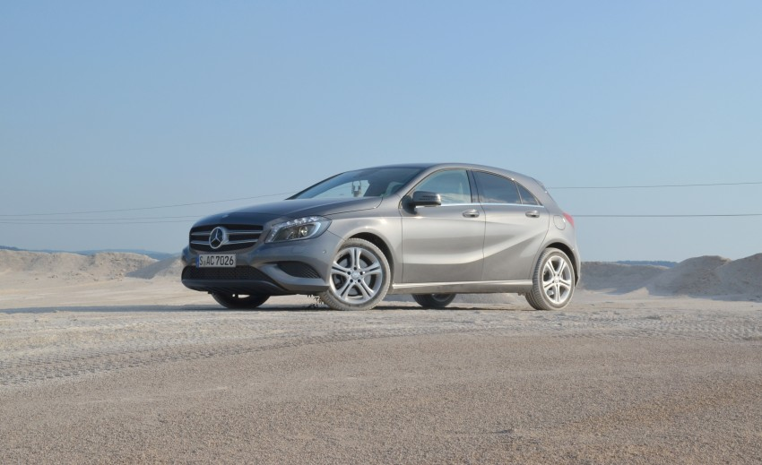 DRIVEN: W176 Mercedes-Benz A-Class – we sample the A200, A250 and A250 Sport in Slovenia Image #118576