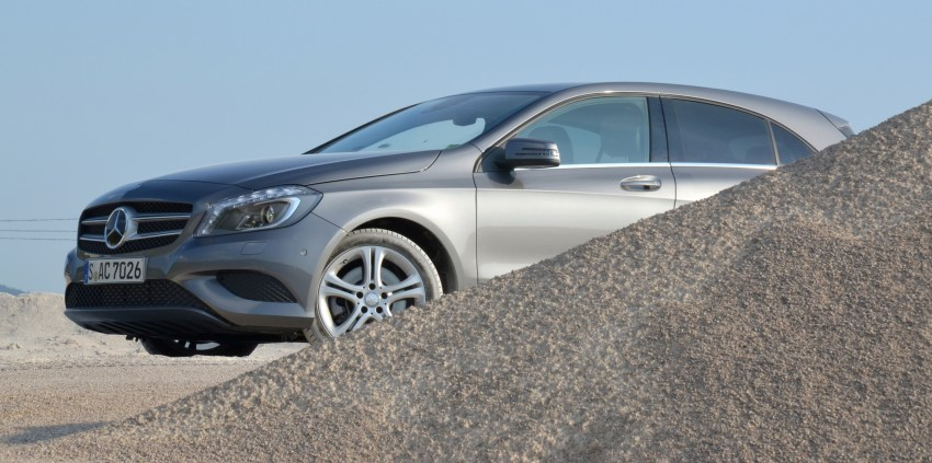 DRIVEN: W176 Mercedes-Benz A-Class – we sample the A200, A250 and A250 Sport in Slovenia Image #118577