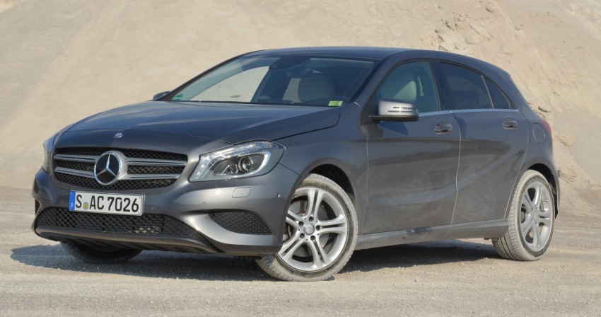 DRIVEN: W176 Mercedes-Benz A-Class – we sample the A200, A250 and A250 Sport in Slovenia Image #118578