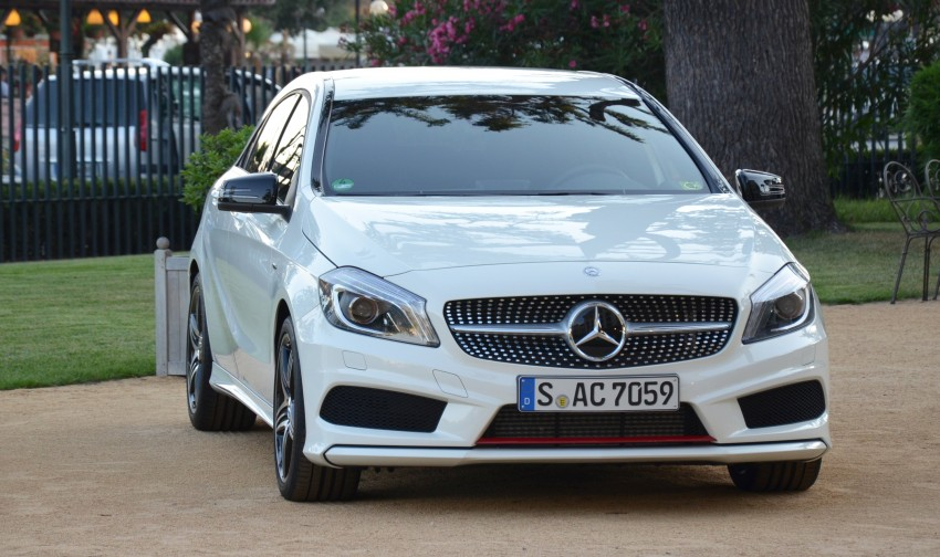 DRIVEN: W176 Mercedes-Benz A-Class – we sample the A200, A250 and A250 Sport in Slovenia Image #118583