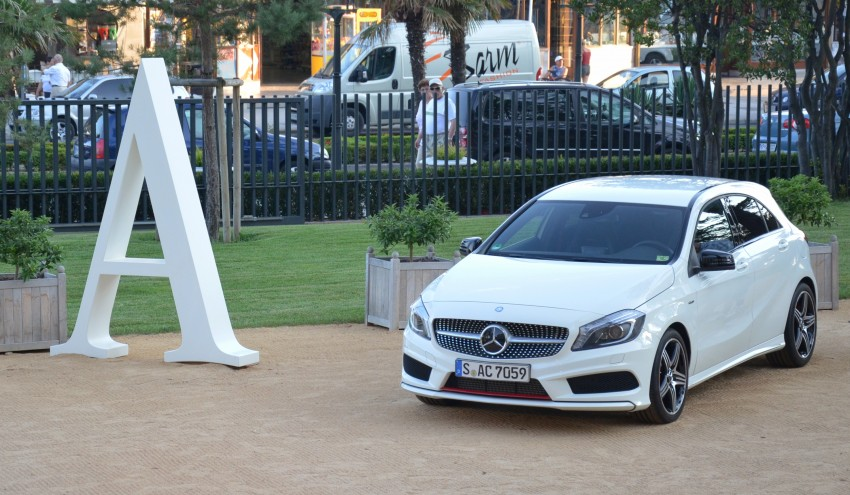 DRIVEN: W176 Mercedes-Benz A-Class – we sample the A200, A250 and A250 Sport in Slovenia Image #118585