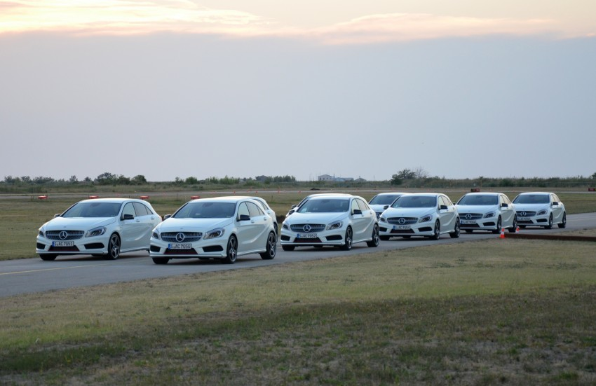 DRIVEN: W176 Mercedes-Benz A-Class – we sample the A200, A250 and A250 Sport in Slovenia Image #118588