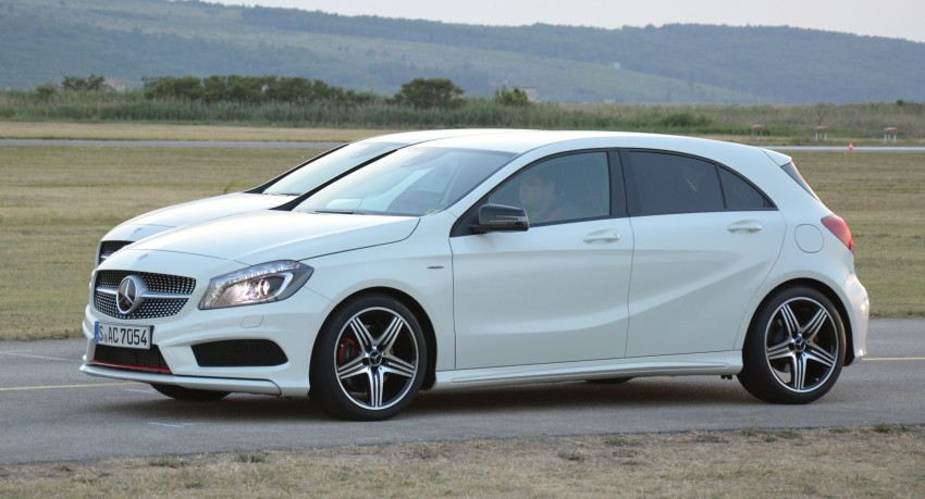 DRIVEN: W176 Mercedes-Benz A-Class – we sample the A200, A250 and A250 Sport in Slovenia Image #118649
