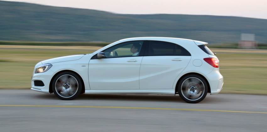 DRIVEN: W176 Mercedes-Benz A-Class – we sample the A200, A250 and A250 Sport in Slovenia Image #118590