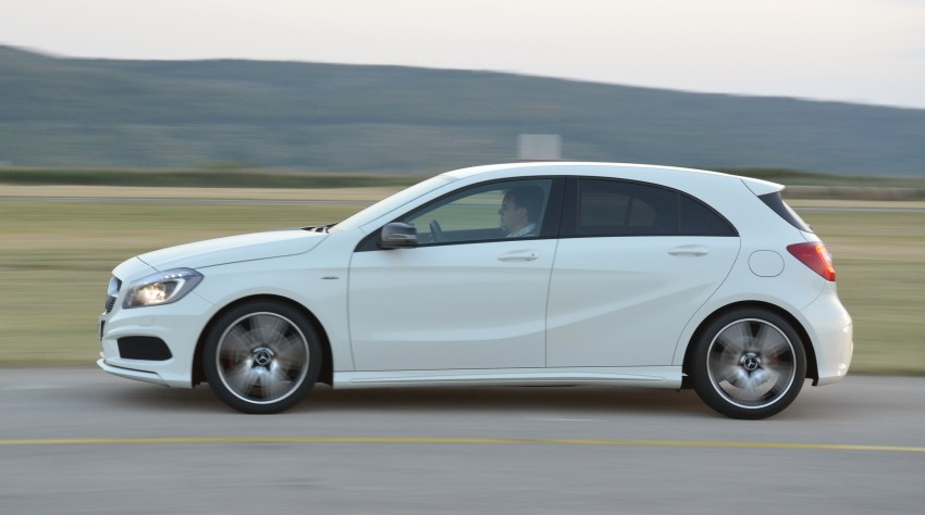 DRIVEN: W176 Mercedes-Benz A-Class – we sample the A200, A250 and A250 Sport in Slovenia Image #118591