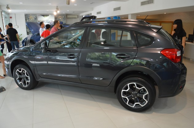 Subaru XV previewed at PJ showroom, Dec 19 launch