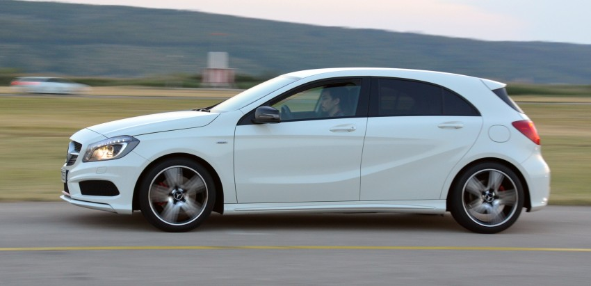 DRIVEN: W176 Mercedes-Benz A-Class – we sample the A200, A250 and A250 Sport in Slovenia Image #118592