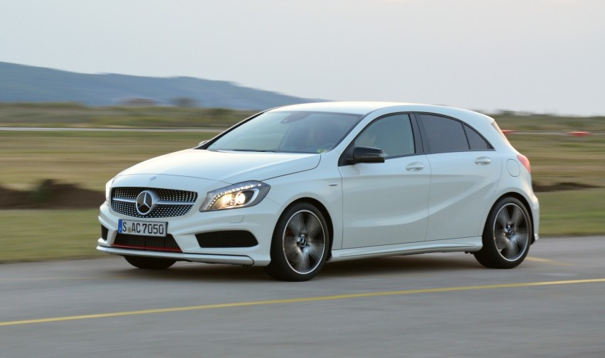 DRIVEN: W176 Mercedes-Benz A-Class – we sample the A200, A250 and A250 Sport in Slovenia Image #118593