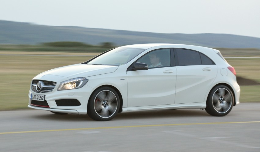 DRIVEN: W176 Mercedes-Benz A-Class – we sample the A200, A250 and A250 Sport in Slovenia Image #118594