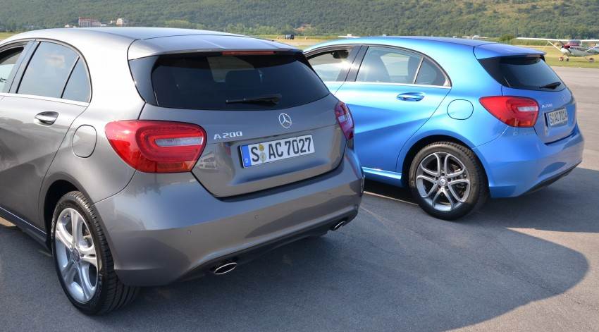 DRIVEN: W176 Mercedes-Benz A-Class – we sample the A200, A250 and A250 Sport in Slovenia Image #118653