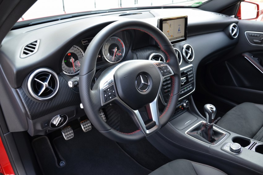 DRIVEN: W176 Mercedes-Benz A-Class – we sample the A200, A250 and A250 Sport in Slovenia Image #118615