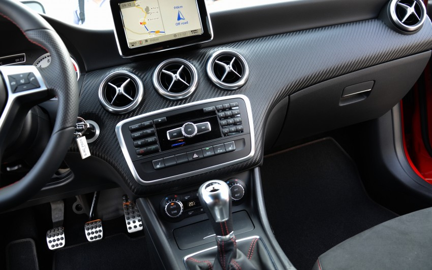 DRIVEN: W176 Mercedes-Benz A-Class – we sample the A200, A250 and A250 Sport in Slovenia Image #118619