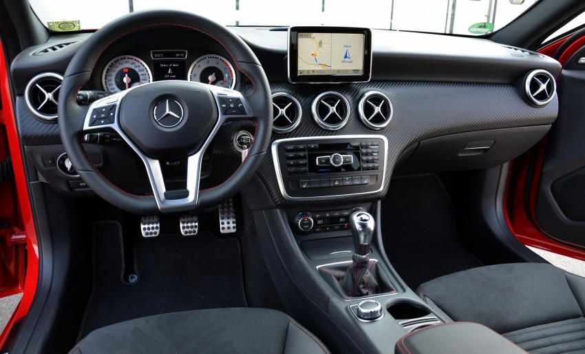 DRIVEN: W176 Mercedes-Benz A-Class – we sample the A200, A250 and A250 Sport in Slovenia Image #118623