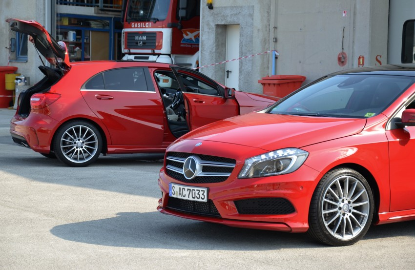 DRIVEN: W176 Mercedes-Benz A-Class – we sample the A200, A250 and A250 Sport in Slovenia Image #118626