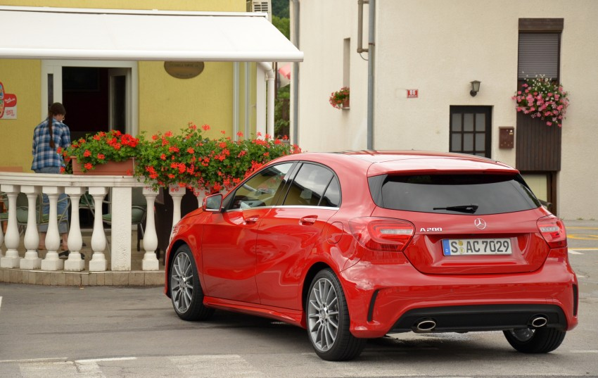 DRIVEN: W176 Mercedes-Benz A-Class – we sample the A200, A250 and A250 Sport in Slovenia Image #118657