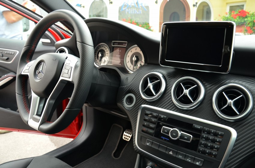 DRIVEN: W176 Mercedes-Benz A-Class – we sample the A200, A250 and A250 Sport in Slovenia Image #118479