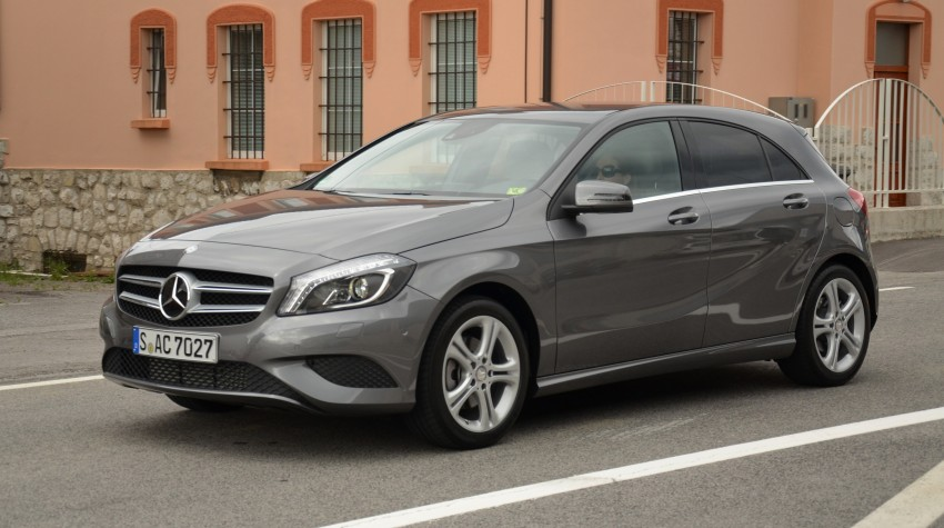 DRIVEN: W176 Mercedes-Benz A-Class – we sample the A200, A250 and A250 Sport in Slovenia Image #118656