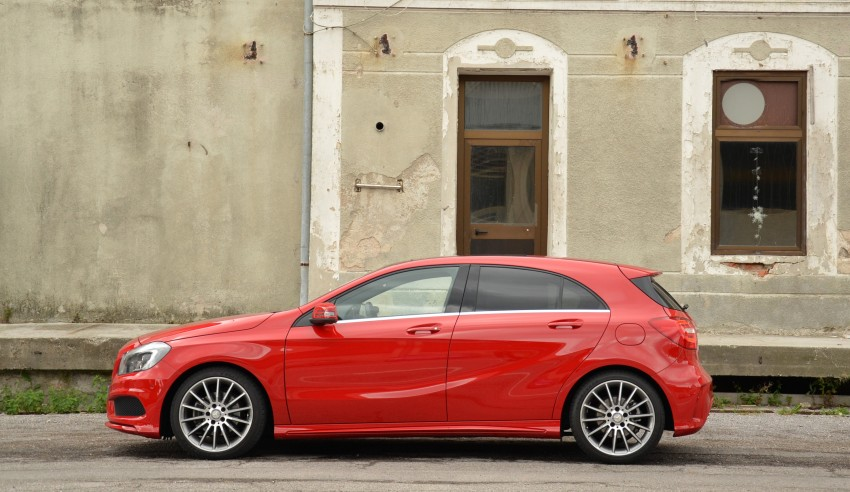 DRIVEN: W176 Mercedes-Benz A-Class – we sample the A200, A250 and A250 Sport in Slovenia Image #118481