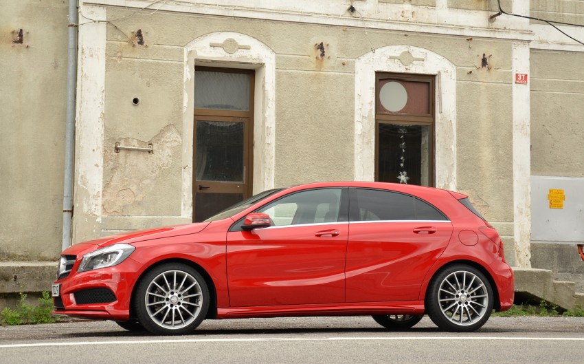 DRIVEN: W176 Mercedes-Benz A-Class – we sample the A200, A250 and A250 Sport in Slovenia Image #118482