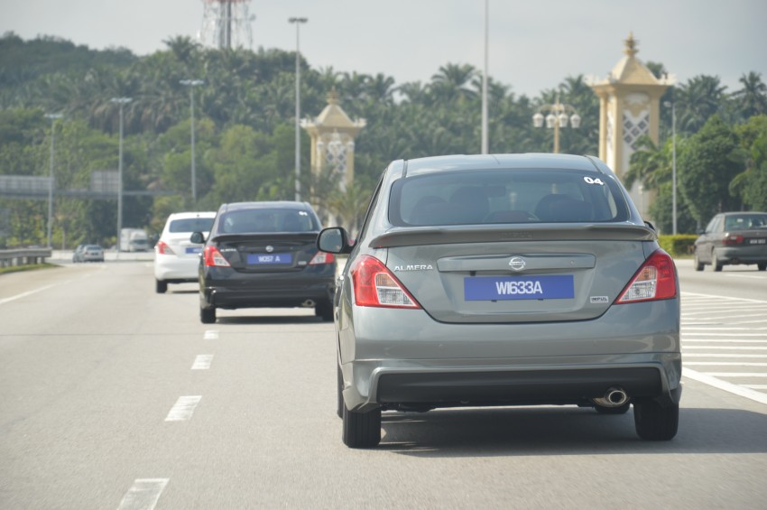 DRIVEN: Nissan Almera 1.5 CVTC, to Melaka and back Image #139845