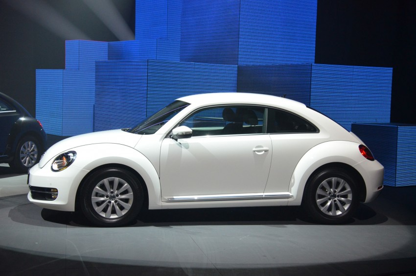 Volkswagen Beetle officially launched at Das Auto Show 2012 – 1.2 TSI with DSG, RM139,888 Image #129738