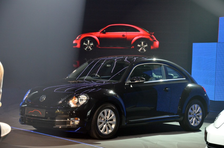 Volkswagen Beetle officially launched at Das Auto Show 2012 – 1.2 TSI with DSG, RM139,888 Image #129739