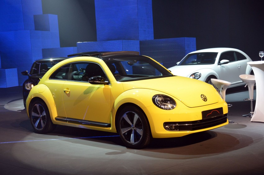 Volkswagen Beetle officially launched at Das Auto Show 2012 – 1.2 TSI with DSG, RM139,888 Image #129740