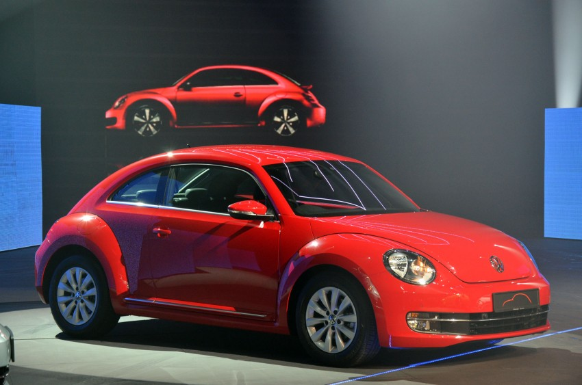Volkswagen Beetle officially launched at Das Auto Show 2012 – 1.2 TSI with DSG, RM139,888 Image #129741