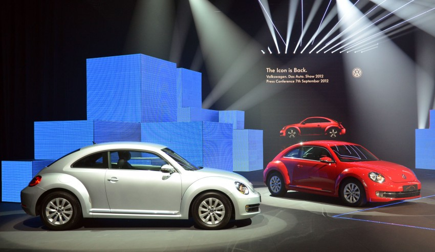 Volkswagen Beetle officially launched at Das Auto Show 2012 – 1.2 TSI with DSG, RM139,888 Image #129742