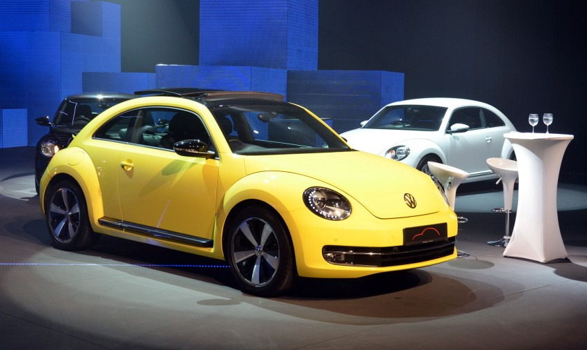 Volkswagen Beetle officially launched at Das Auto Show 2012 – 1.2 TSI with DSG, RM139,888 Image #129743
