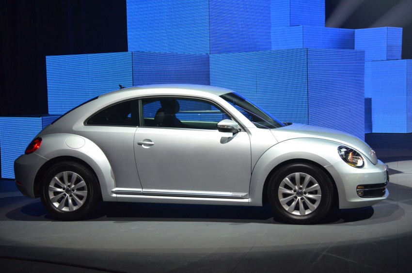 Volkswagen Beetle officially launched at Das Auto Show 2012 – 1.2 TSI with DSG, RM139,888 Image #129745