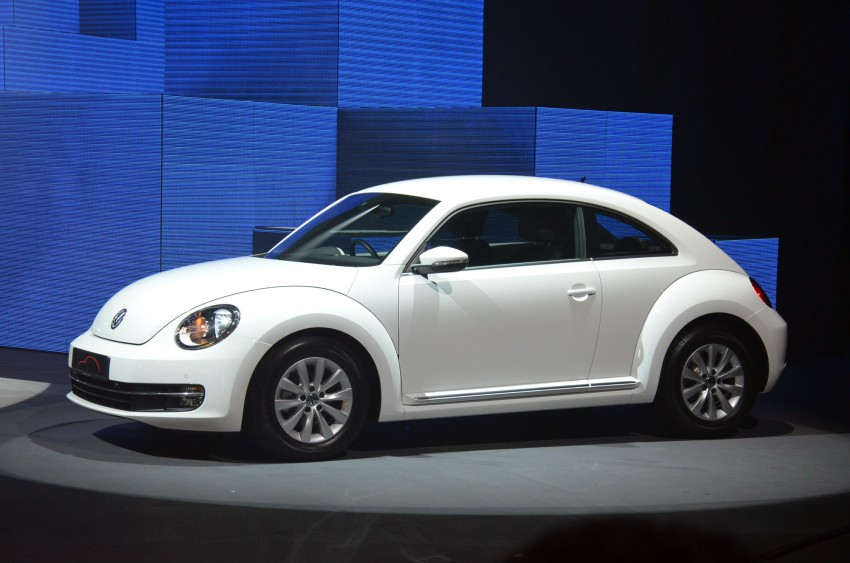 Volkswagen Beetle officially launched at Das Auto Show 2012 – 1.2 TSI with DSG, RM139,888 Image #129746
